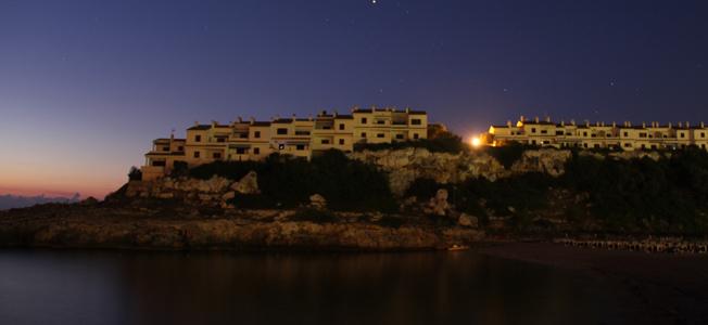 Roca Murada bei Nacht